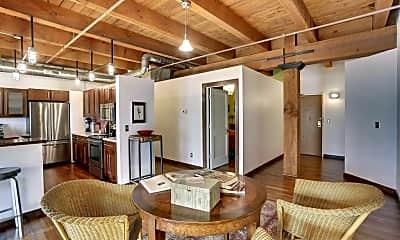 Living Room, 400 N 1st St 408, 1