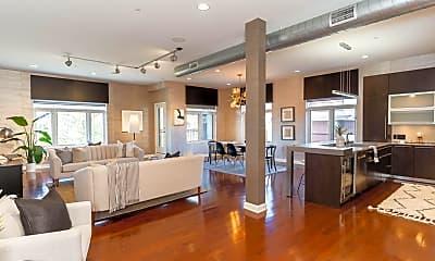 Living Room, 34 W Poplar Ave 405, 1