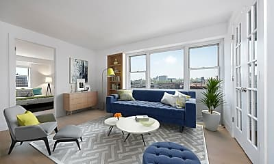 Living Room, 620 Lenox Ave 12-E, 0