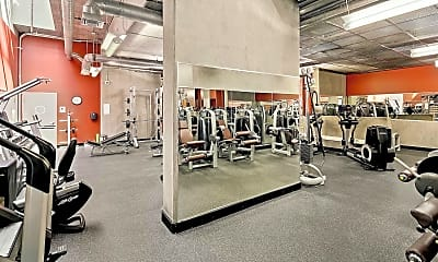 Fitness Weight Room, 321 Tenth Ave 704, 2