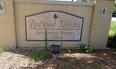 Redwood Heights, 1