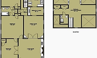 Patio / Deck, 708 Parker St, 2