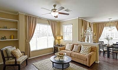 Living Room, The Vintage At Hyland Hills, 1