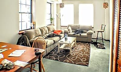 Living Room, 830 South St 2R, 0