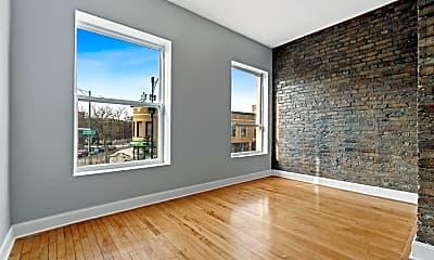 Living Room, 3807 N Clark St FLR-2, 2