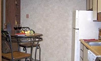 Kitchen, Longwood Apartments, 1