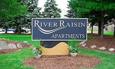 Community Signage, River Raisin, 1