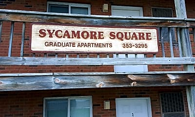 Sycamore Square Apartments & Houses, 1