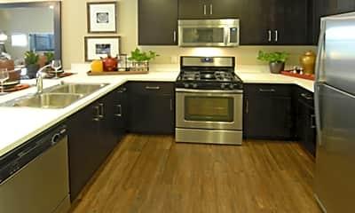 Kitchen, The Plaza Luxury Apartments: Foster City, 2