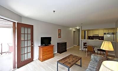 Living Room, 40 Cambridge Ave 204, 1
