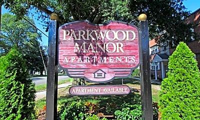 Community Signage, Parkwood Manor, 2