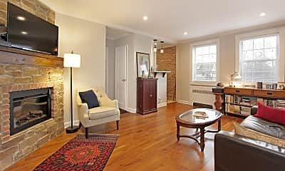 Living Room, 378 Claremont Ave 6, 0