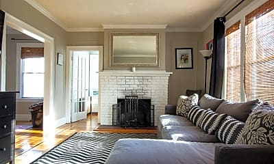 Living Room, 183 Willard St, 0