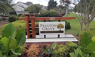 Community Signage, Preston Grove, 2