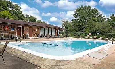 Pool, Garden Quarter Apartments, 1