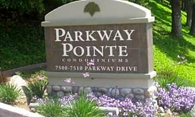 Community Signage, 7502 Parkway Dr, 2