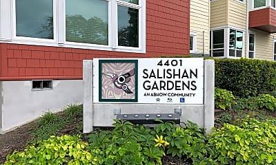 Salishan Gardens, 1