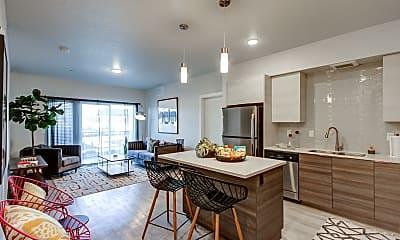 Kitchen, The Lofts at Ten Mile, 1
