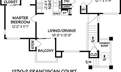Pool, 1230 Franciscan Ct, 2