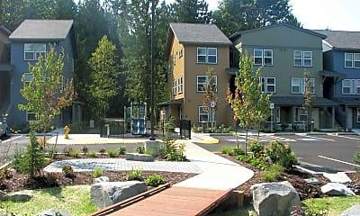Courtyard, Sequoia Landing, 0