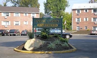 Community Signage, Spring Garden Apartments, 1