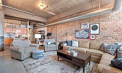 Living Room, 901 N 3rd St 510, 1