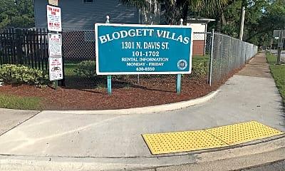 Blodgett Villas, 1