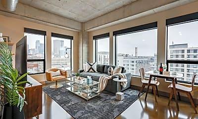 Living Room, 728 N 3rd St 608, 0