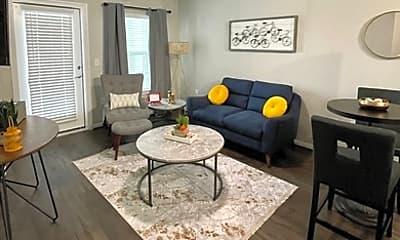 Living Room, 20217 Huebner Rd 1417, 1