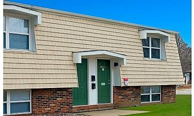 Building, Green Door Apartments, 0