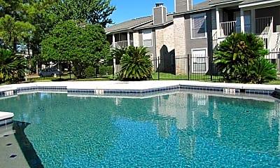 Pool, Brooke Hollow Condominiums, 2