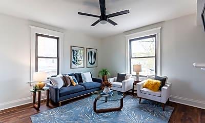 Living Room, 3607 Morris Pl B, 1