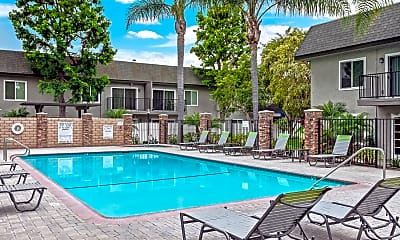 Pool, Beachwood Apartments, 0