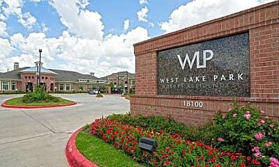 Community Signage, West Lake Park Apartments, 2