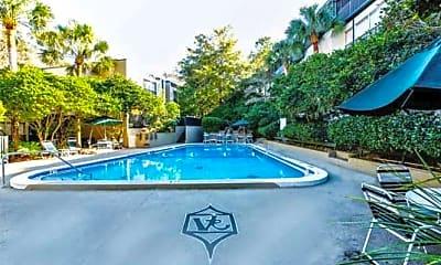 Pool, Villa Ravine Apartments, 2
