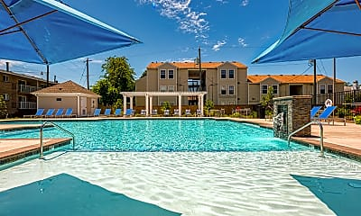 Pool, Colony Point Apartments, 2