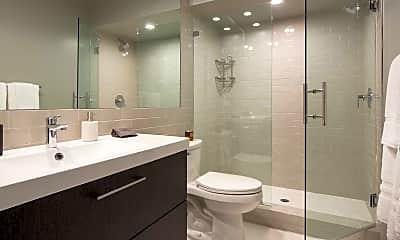 Bathroom, 888 Hilgard Furnished Living, 2