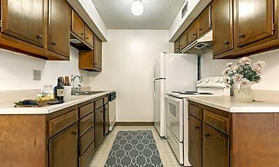 Kitchen, White Lakes Plaza Apartments, 1