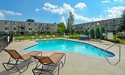 Pool, Eagle Pointe Apartments, 0