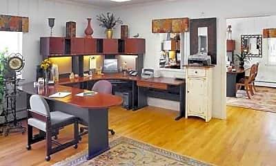 Kitchen, Parkview Apartments, 2