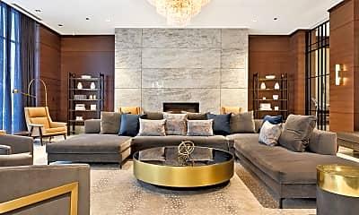Living Room, 2 W Delaware Pl 2201, 1