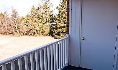 Patio / Deck, Village Court Apartments, 2