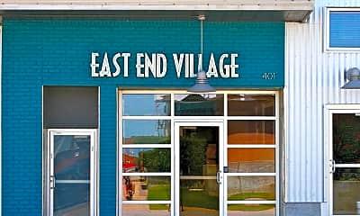 Community Signage, East End Village, 1