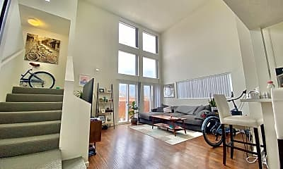 Living Room, 3722 S Canfield Ave, 0