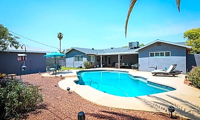 Pool, 8023 E Earll Dr, 2
