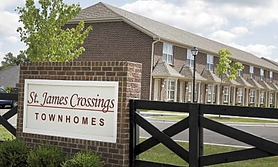 Community Signage, St. James Crossings Townhomes, 2