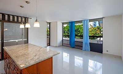 Living Room, 2029 Ala Wai Blvd, 1