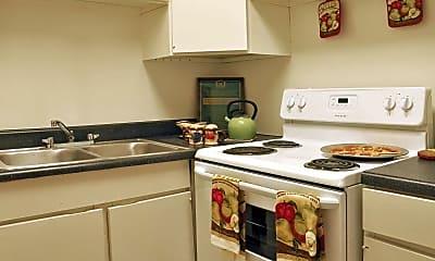 Kitchen, Rock Creek Apartments, 1