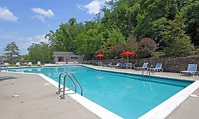 Pool, Salem Wood Apartments, 1