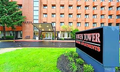 Community Signage, Bowen Tower Senior Apartments, 0